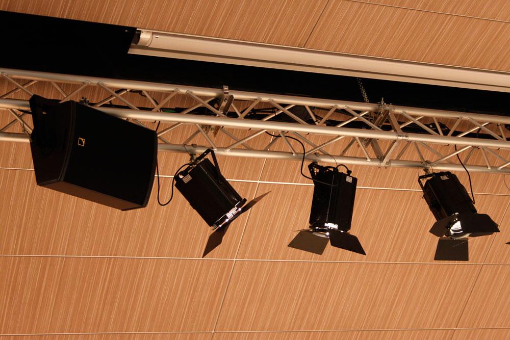Auditorium luci