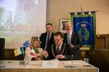 Firma del patto di amicizia Formigine/Kilkenny (Irlanda)
